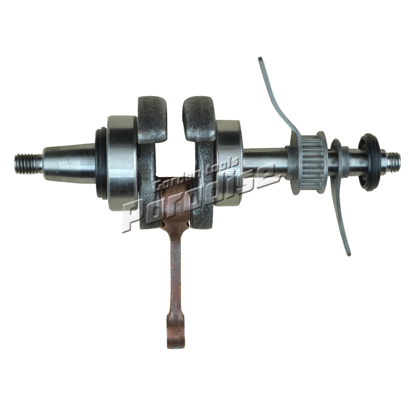 GX35 Brush Cutter Crankshaft for 4 Stroke 35.8CC GX35 Trimmer Engine Parts Replacement gx25 gx35 stroke brush cutter trimmer lawn mower diaphragm carburetor garden tool parts