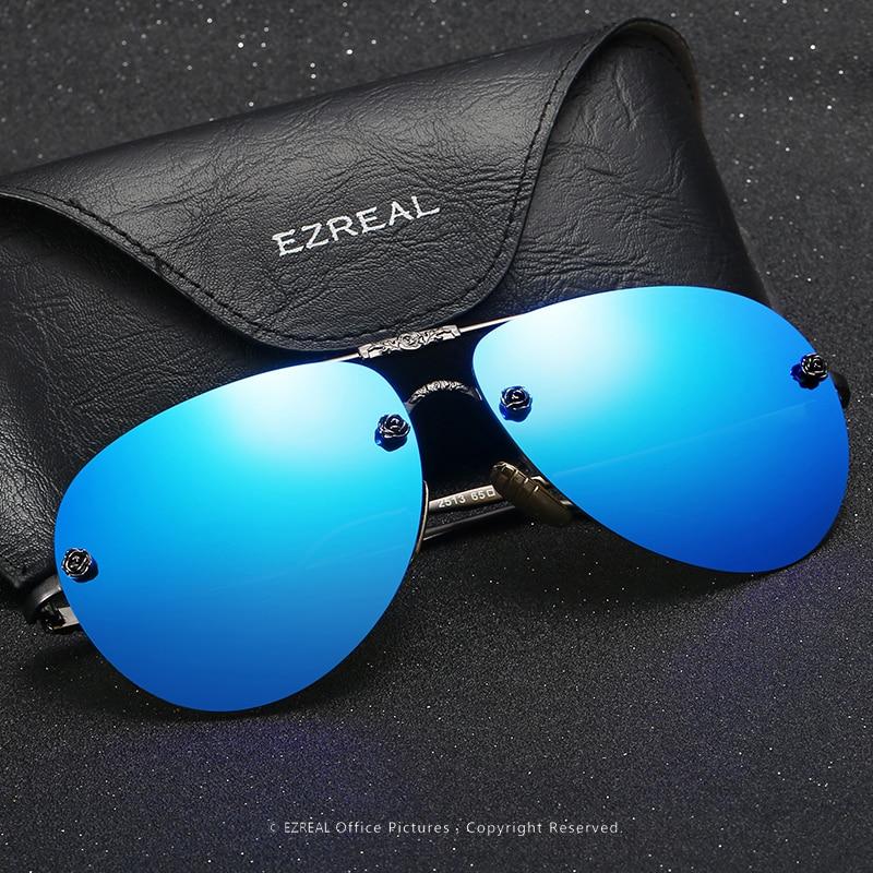 Ezreal hoge kwaliteit gepolariseerde roze zonnebril vrouwen nieuwe - Kledingaccessoires