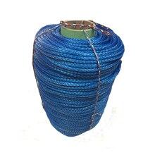 Fabrika Doğrudan Satış 10MM * 100M UHMWPE Halat Kablo Sentetik vinç halatı