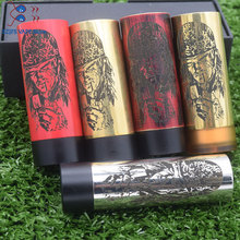 hot style thin piece Mod with Carnage RDA mods kit fire button side brass Pei battery 510 wire material 18650 vape Overlord
