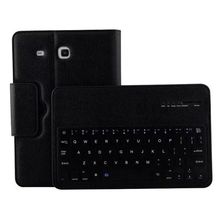 2 in 1 Removable Wireless Bluetooth Keyboard Case For Samsung GALAXY Tab E 9.6 T560 T561 Tablet PC Keyboard Case