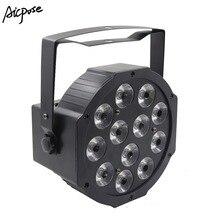 12×12 Вт RGBW 4 в 1 светодиодный Par свет или RGBWA UV 6 в 1 эффект света красочный Par свет с DMX контроль сценическое освещение