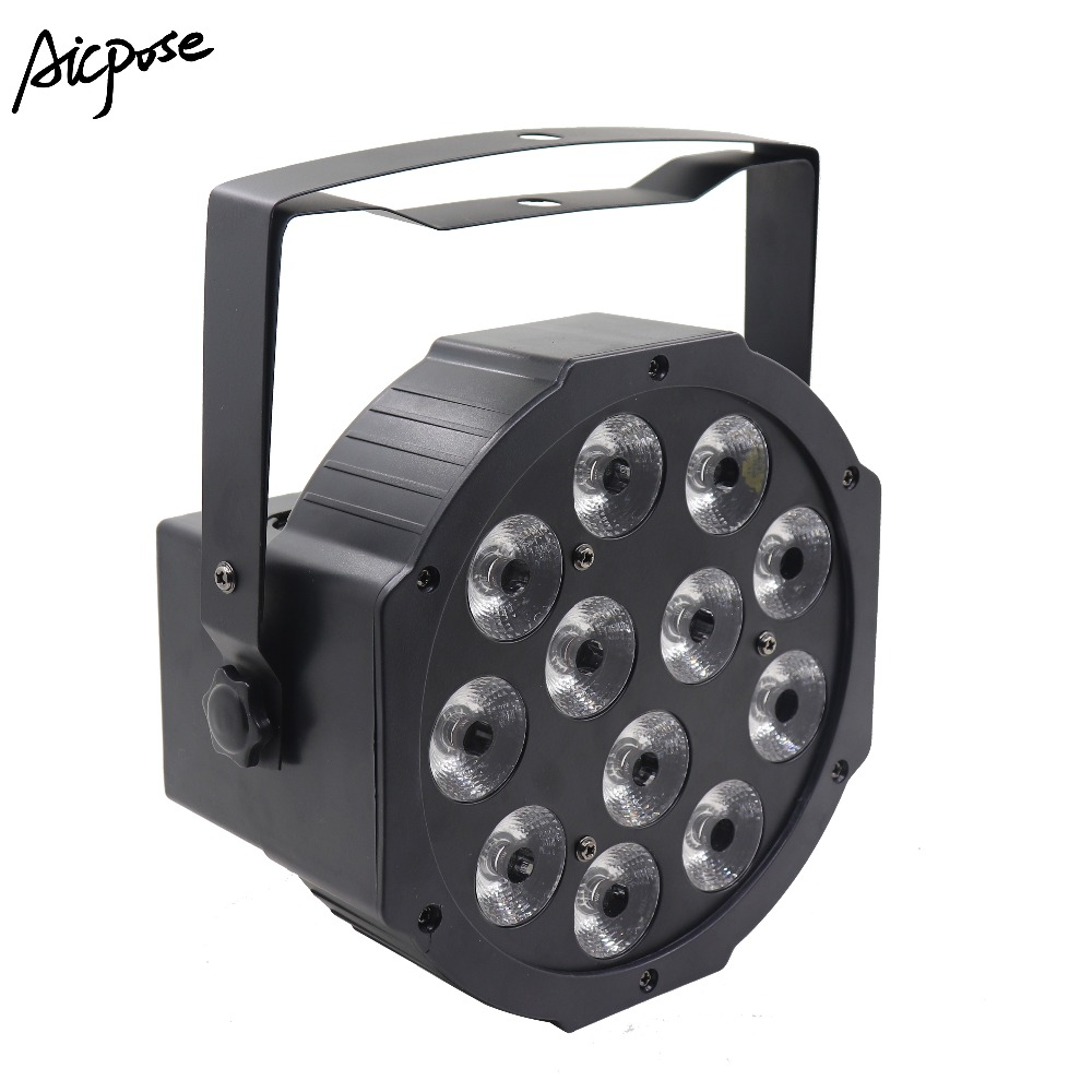 12x12w RGBW 4in1 LED Par Light With DMX512 Control Disco Wall Washer Stage Wedding Staining Light 12 * 12w Par Light