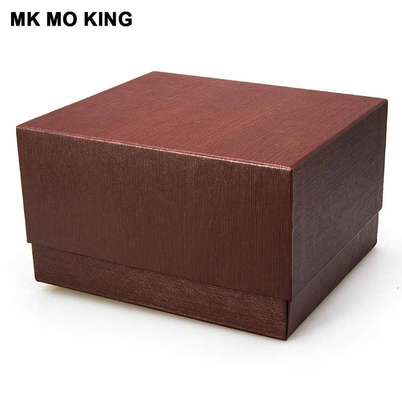 Mk الخشب والمجوهرات الفاخرة العلامة التجارية هدية صندوق ل dw رولكس تيسو أوميغا لونجين بانيراي IWC AP الرجال ساعة نسائية علبة أساور