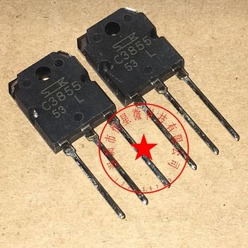 free shipping 10pcslot 2SC3855 C3855 NPN TO-3P  TO-3P