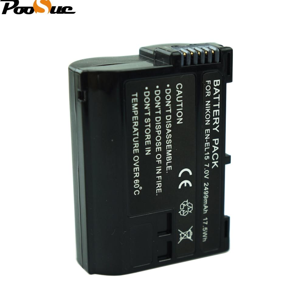 Batterien 3 X En-el15 En El15 Digital Batterie Für Nikon D7200 Slr Kamera Batterie D7000 D7100 D7500 D610 D750 D810 D850 Z6 Z7 D500 Tracking Digital Batterien