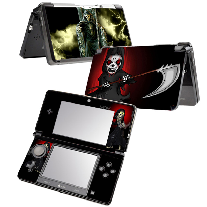Free Drop Shipping Factory Price full body games decal skin for nintendo 3DS console game skin sticker