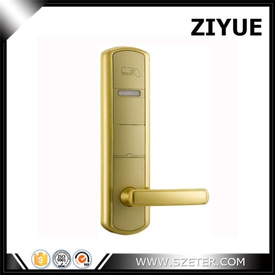 Hotel lock hotel card reader door lock  hotel security lock with software ET915RF-g elegant streamline design card intelligent hotel door lock work with manage software apply dhl shipping