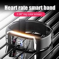 Letike Смарт-часы для мужчин водонепроницаемые умные часы для женщин монитор сердечного ритма фитнес-трекер часы секундомер Спортивный для ...