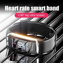 Letike Смарт-часы для мужчин водонепроницаемые умные часы для женщин монитор сердечного ритма фитнес-трекер часы секундомер Спортивный для Android IOS