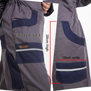 Image 4 - Men Women Overalls Labor protective Work clothing Dust proof Comfortable Breathable Machine Auto repair Long sleeve Coveralls