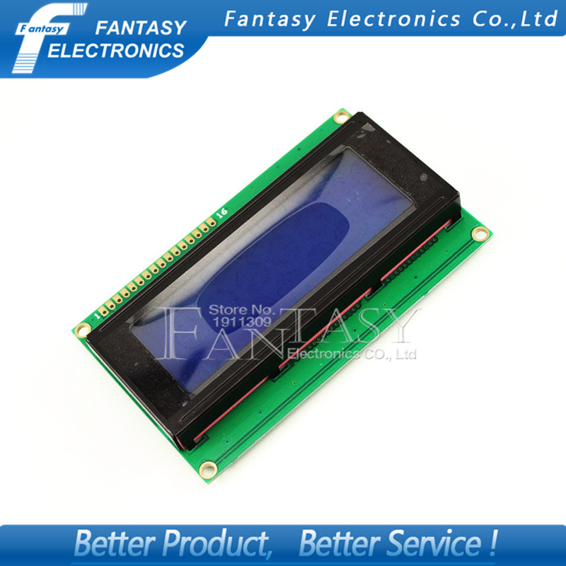 1pcs LCD Board 2004 20*4 LCD 20X4 5V Blue Screen Blacklight LCD2004 Display LCD Module LCD 2004 New