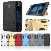 Slim Armor Case For Nokia 1 2 3 5 6 7 8 9 X6 7 Plus Phone Hold Ultra thin Hard Plastic Back Cover Housing(China)