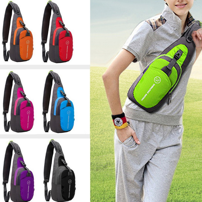 Nibesser Multifunction Women Chest Bags Men Nylon Casual Crossbody Sling Bags Students Anti Theft Backpack Casual Shoulder Bag