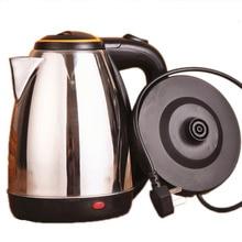 Портативная кухонная техника Candimill, Электрический домашний чайник из нержавеющей стали, 2л, чайники для быстрого кипячения воды, цена