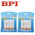 8pcs 100% genuine original BPI 2400mAh NiMH AA rechargeable batteries, high-quality toys, cameras, flashlights and battery