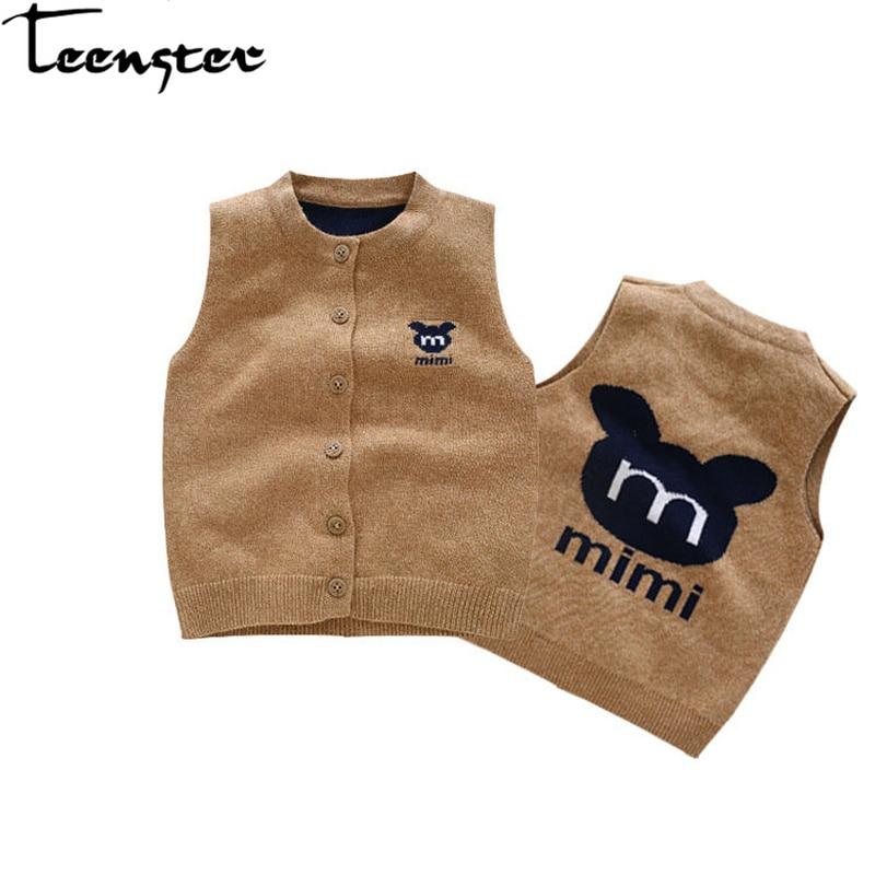 Vest Cardigan Mickey Winter Newborn Boy Coats Costume Spring Embroidery Fall Teenster