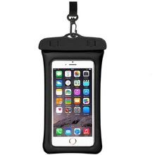 Floating Waterproof Bag Mobile Phone Pouch Swimming For Iphone 7 Plus Surfing Diving Case HangBag Huawei Mate 7/8
