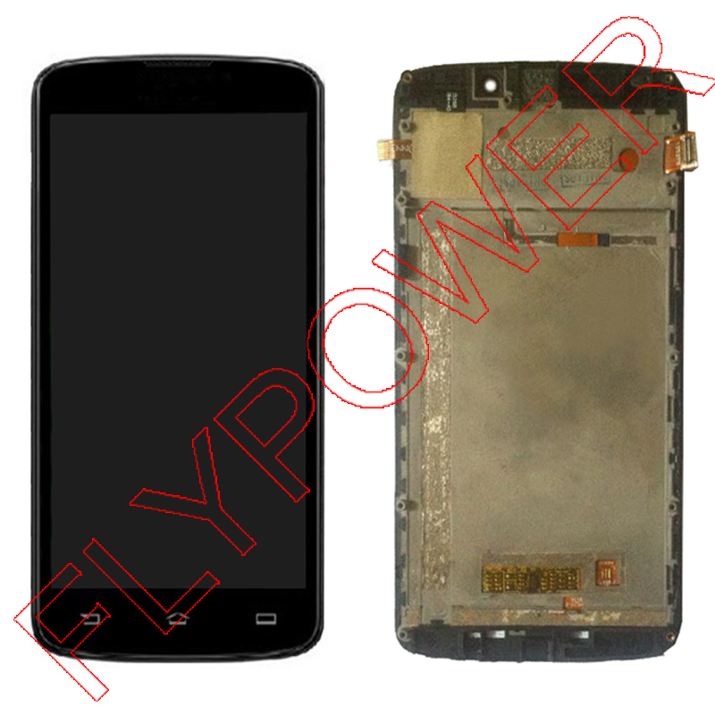 FOR Philips V387 LCD Display + Touch Screen Digitizer Glass + Frame assembly by free shipping; 100% Warranty