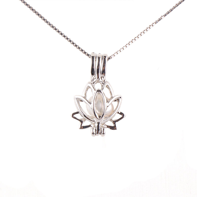 Freshwater cage pearl pendant 2018 new arrival