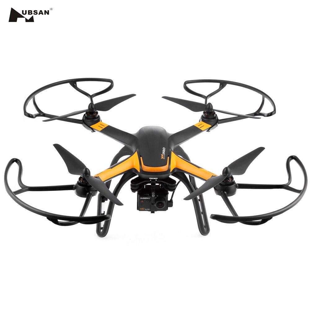 D'origine Hélicoptère Hubsan H109S X4 PRO 5.8G FPV 1080 P HD Caméra GPS 7CH RC Quadcopter avec 1-axis Brushless cardan
