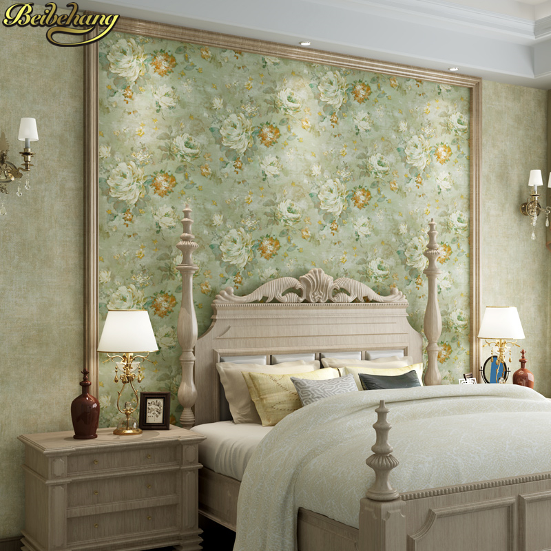 beibehang papel de parede 3d American retro garden Wallpaper Bedroom Dinning Living room TV background wall papers home decor beibehang twinkle little star child wallpaper house bedroom home decor background wall paper kids nursery room papel de parede