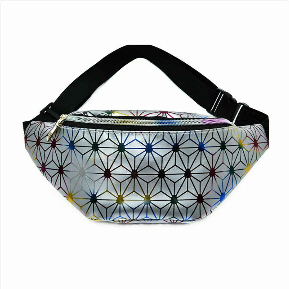 2019 โมเดิร์นผู้หญิงเข็มขัดเอวกระเป๋า Fanny กระเป๋ากระเป๋าสะพาย Diagonal Zipper PU หนังใหม่แฟชั่น Pochete Feminina