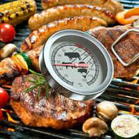 Edelstahl Instant Lesen Sonde BBQ Fleisch Thermometer Küche Backofen Grill Fleischthermometer Für Grill Steak Raucher
