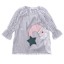 0-5Y Toddler Infant Baby Girls Kids Casual Xmas Cotton Tutu Dress Clothes Christmas Santa Clothes