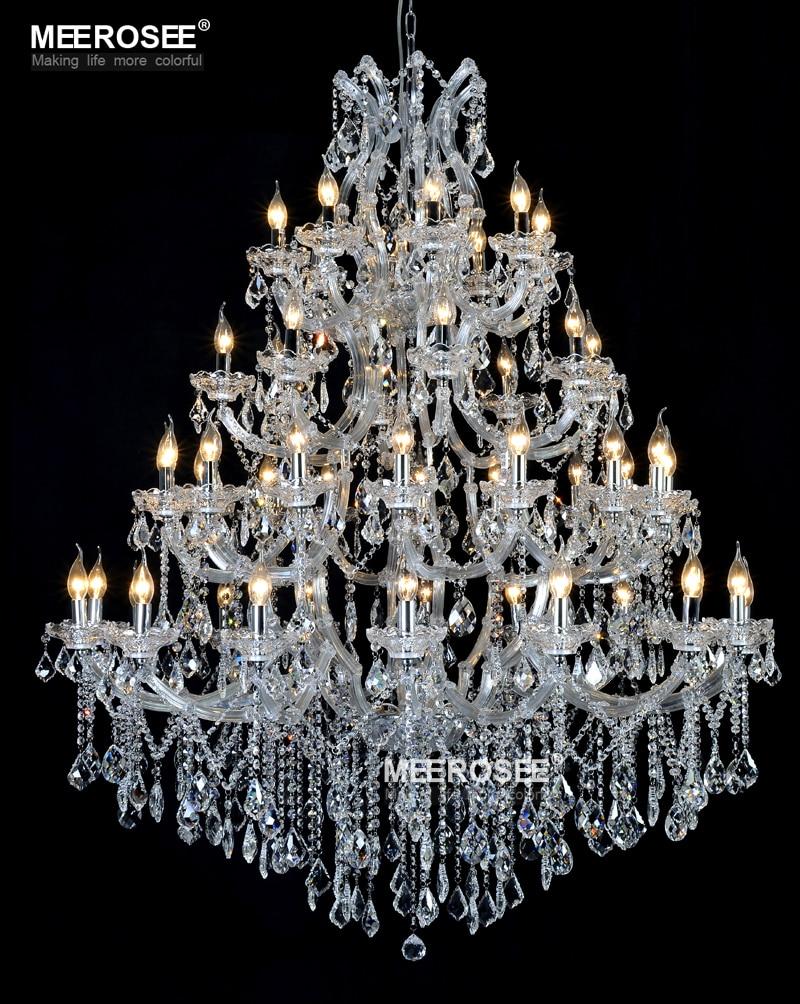 Enorme kristallen kroonluchter verlichtingsarmatuur voor hotelproject - Binnenverlichting - Foto 6