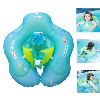 Baby PVC Swimming suit Ring Inflatable Armpit floating Circle bathing Double raft rings  Swimming pool accessories baby swimming float ring inflatable infant floating kids swimming pool accessories circle bathing inflatable double raft rings