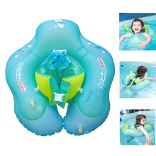 Baby Swimming Ring pool accessories Inflatable Armpit floating Circle bathing Double raft rings toy 1-6 Year old