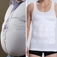 Bluelans Men Slim Body Shaper Vest Tops Shirt Tummy Waist Underwear Beer Belly Slimmer