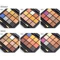 6 Pçs/lote Nova Completa Cores Shimmer Matte Mini Oferta Especial Cosméticos Nu Paleta Da Sombra de Maquiagem Sombra de Olho Nake Paletas