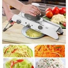 Multifunctional Manual Vegetable Slicer Adjustable Mandoline Shredders Cutter Potato Carrot Grater Kitchen Gadget Cooking Tools