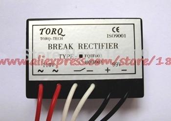 Free shipping    FQIF003B (AC100~110V/DC90~99V) brake motor brake power rectifier rectifier module цена 2017
