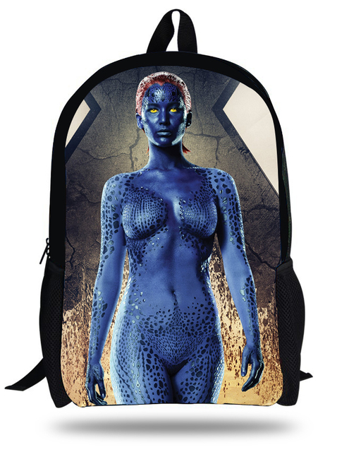 Aliexpress.com : Buy 16 inch Mystique X Men Children School Bags ...