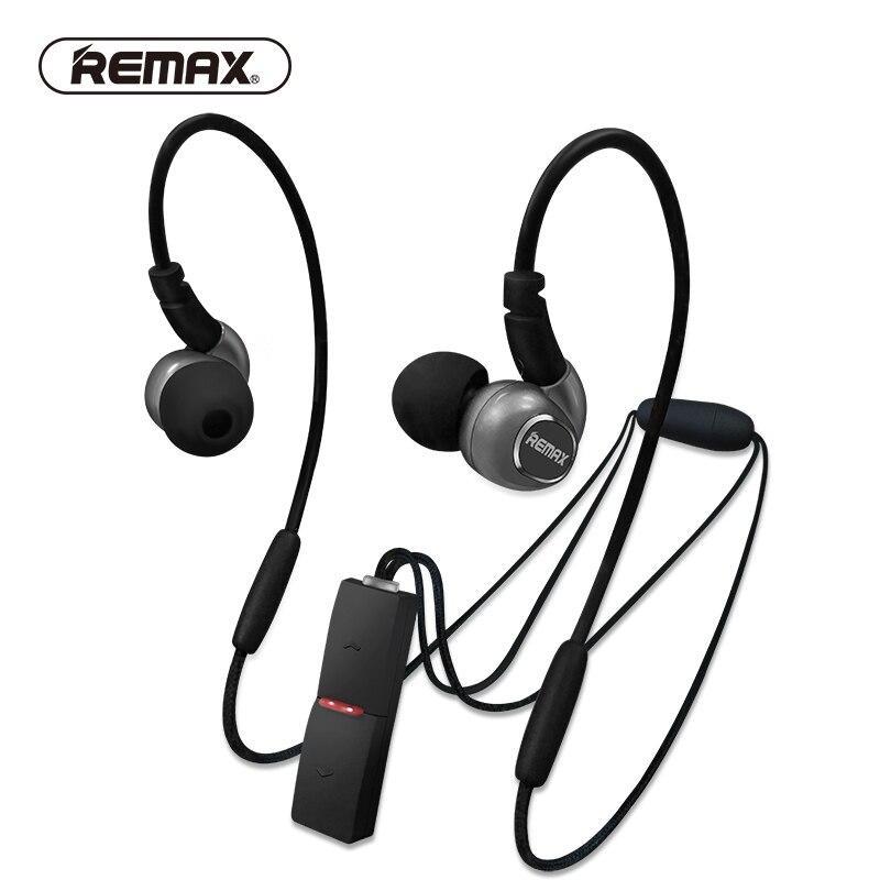 REMAX tour de cou apt-x Sport Bluetooth 4.1 Tech écouteurs aimant stéréo basse lourde en cours d'exécution casque pendentif avec micro pour iphone