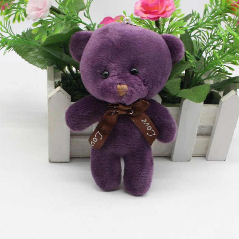 50 шт./лот Kawaii маленькие плюшевые медведи с бантом плюша 12 см игрушка Тедди-медведь, мини-медведь TED медведи плюшевые Игрушечные лошадки свадебные подарки 0802