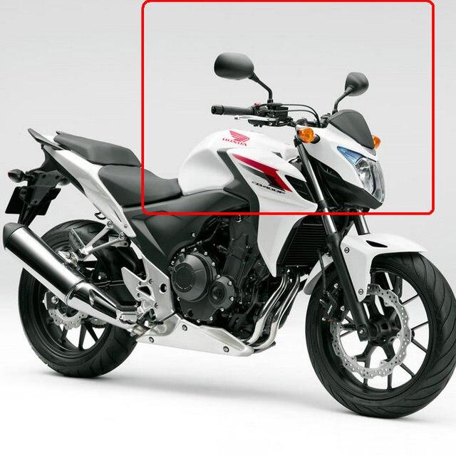 Free shipping Motorcycle Mirrors fits HONDA CB400X CB400F CBR500F ...