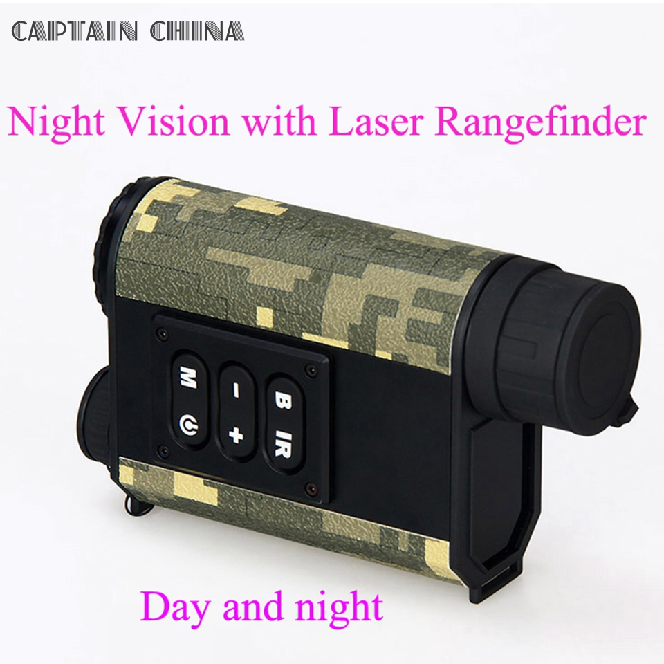 Day and Night font b Rangefinder b font Laser Ranging Night Vision Digital Compass Night Vision