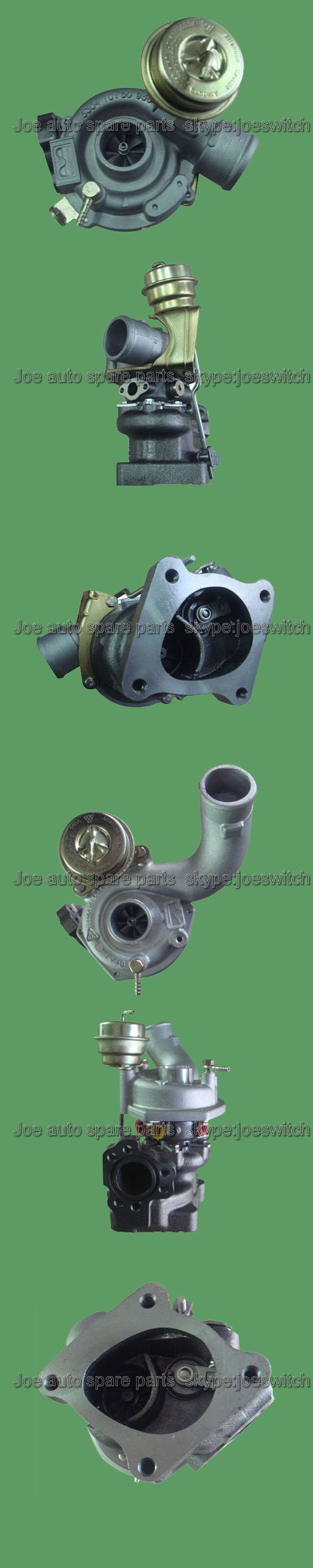 K04 53049880025+53049880026 Turbo Turbocharger For AUDI RS4 EngineASJ AZR 2.7L with gaskets