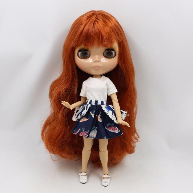 TBL Neo Blythe Doll Tan koža đumbira sa zglobnim tijelom