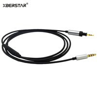 OFC Cable With Remote Mic For Iphone Android Phones For JBL J55 J55a J55i J88 J88a