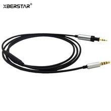 OFC кабель с пультом дистанционного управления и микрофоном для Iphone и Android телефонов для JBL J55 J55a J55i J88 J88a J88i наушники