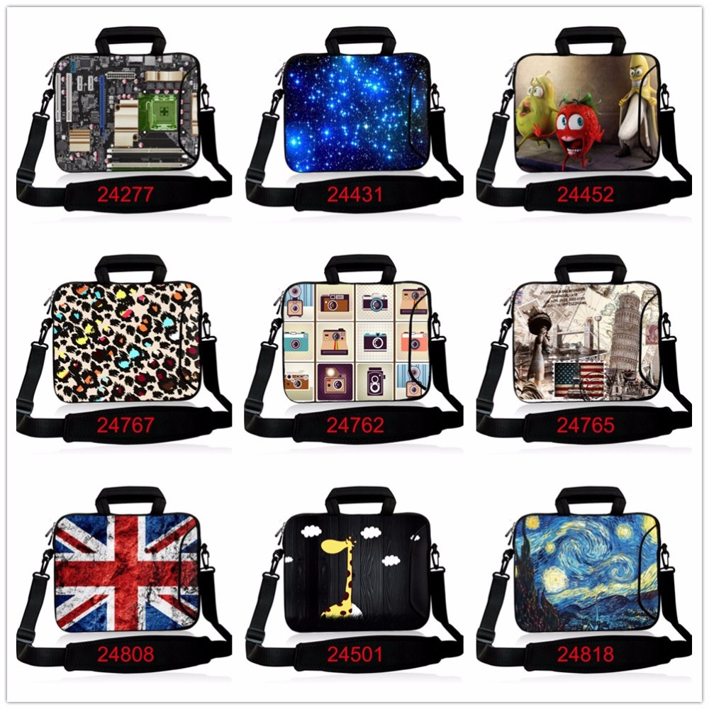 13.3 15.6 17.3 Laptop Computer Messenger Shoulder School Bag Notebook Case 10 11.6 13 14.4 17 for Macbook Air Pro Dell Acer Asus