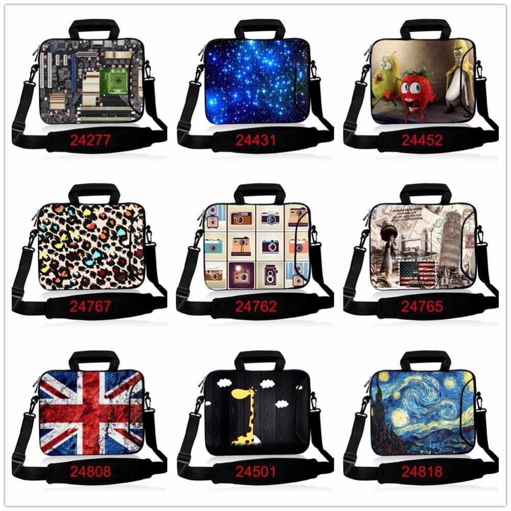 13.3 15.6 17.3 Laptop Computer Messenger Shoulder School Bag Notebook Case 10 11.6 13 14.4 17 for Macbook Air Pro Dell Acer Asus