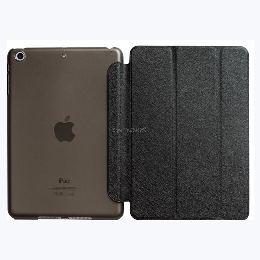 все цены на Trifold Magnetic Smart Cover For iPad Mini 2 3 Premium Quality Folding Design Ultra-thin PU Leather Case Mini3 Auto On/Off онлайн