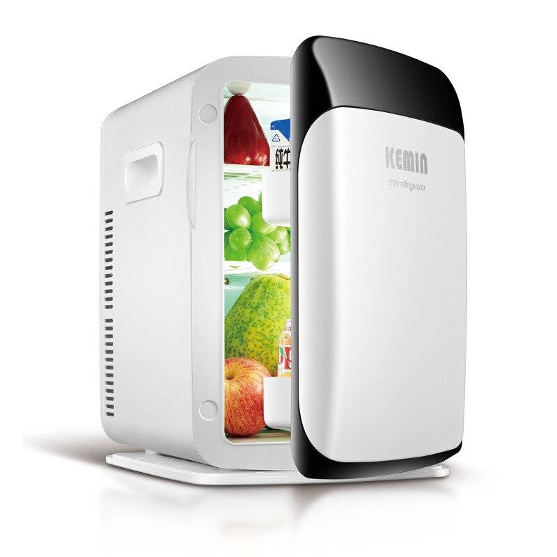 15L Dual-core Home Car Dual-use Mini Refrigerator Small Household Mini Fridges Dormitory Freezer Dc 12v Refrigeration Car Fridge