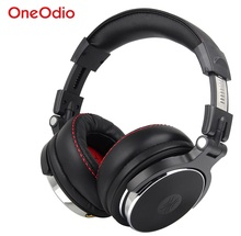 Wired Professional Studio Headphones With Microphone Stereo Professional Studio DJ Headphones For Phone PC Computer DJ Headsets